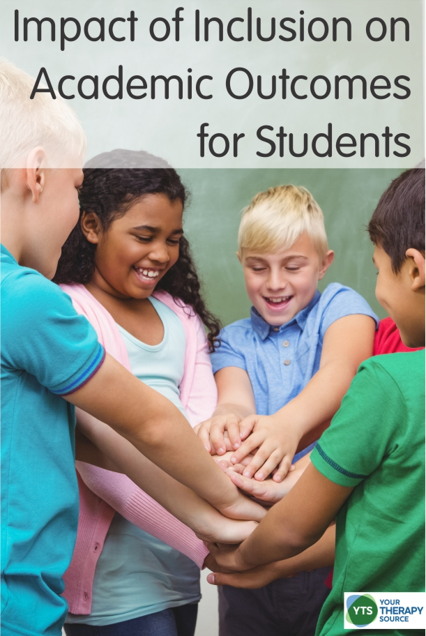 Recently a study was published that helps to support the positive impact of inclusion on academic outcomes for students in special education.
