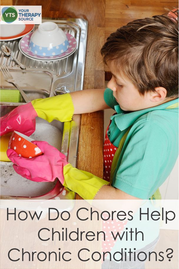 Do you think asking children with chronic conditions to do chores is beneficial for their development? A recent research study indicated that the answer is yes!