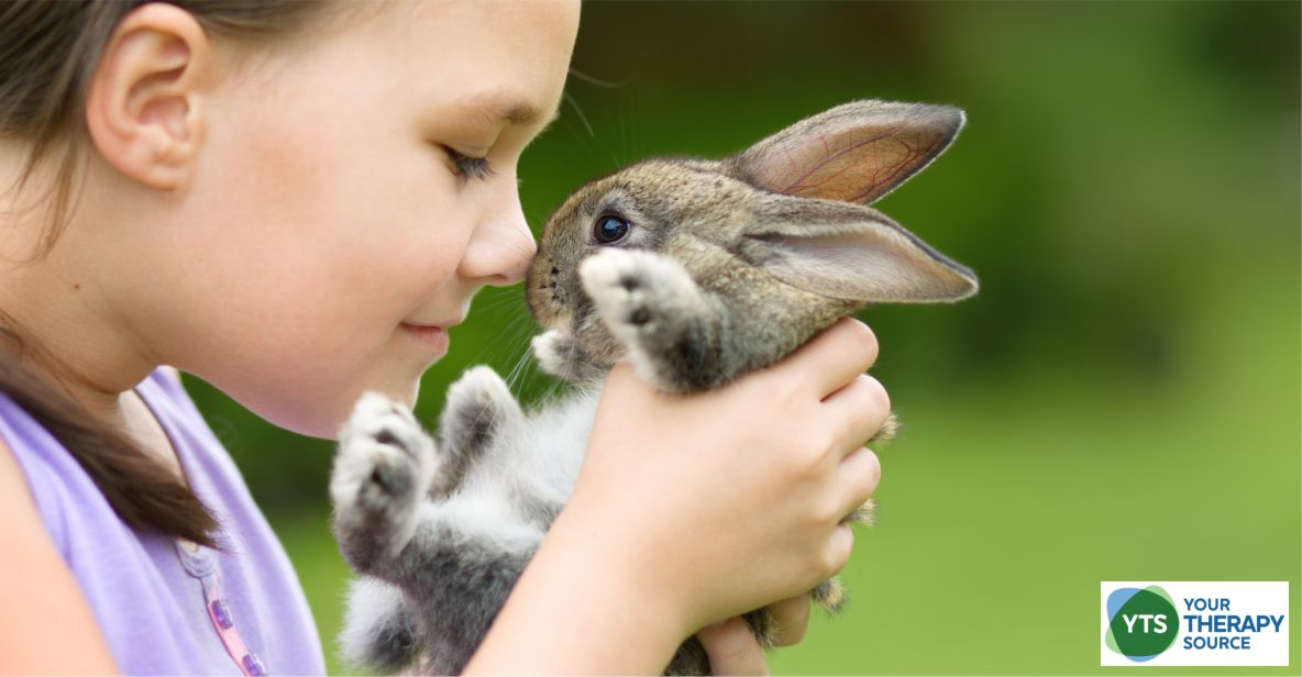 Children (and adults) can start integrating different breathing techniques into their day. Bunny breathing or bunny breaths is one type of breathing technique to teach children.