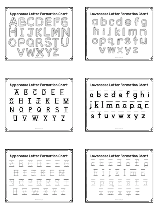 I Can Write Uppercase Letters - Your Therapy Source