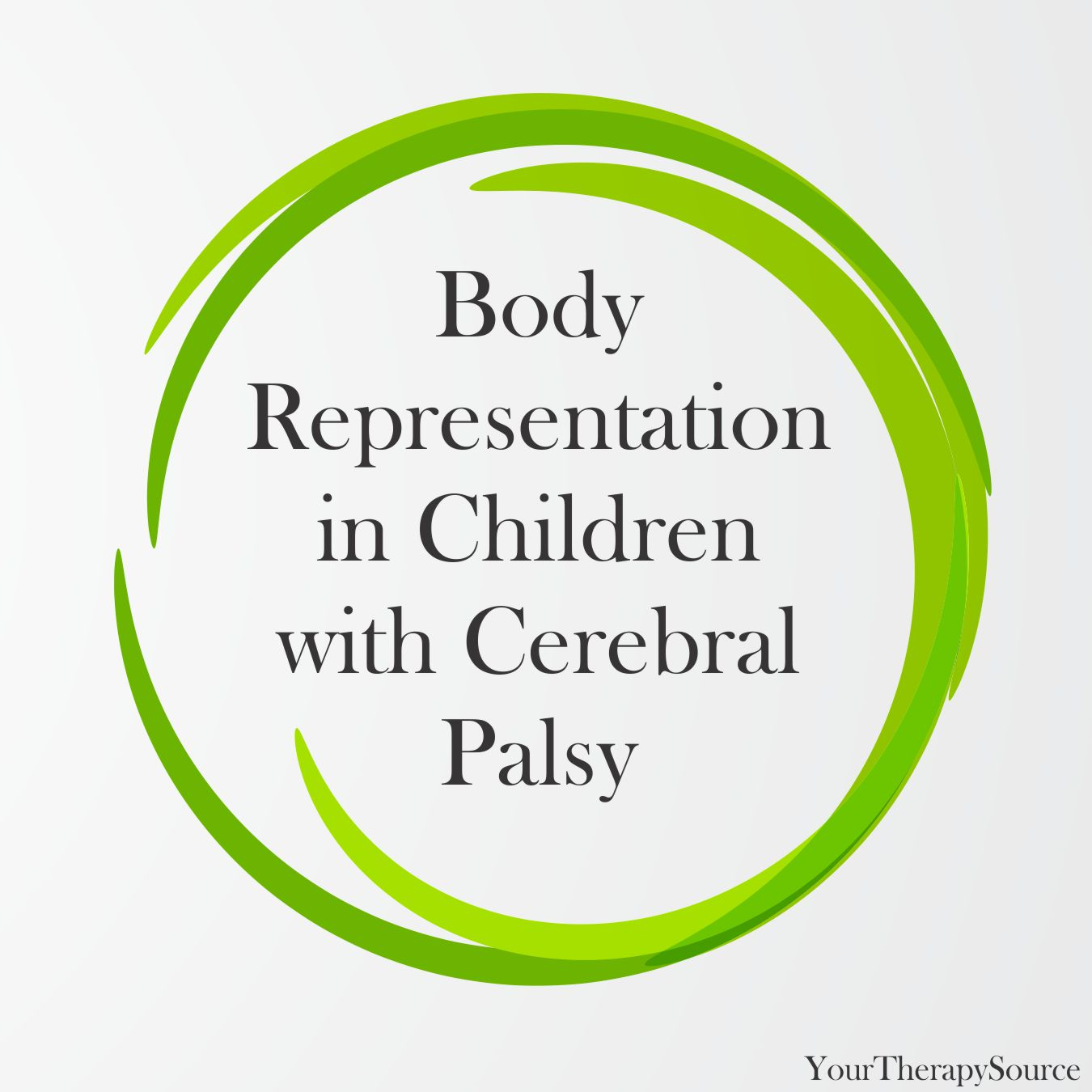 Photo of Body representation in children with cerebral palsy