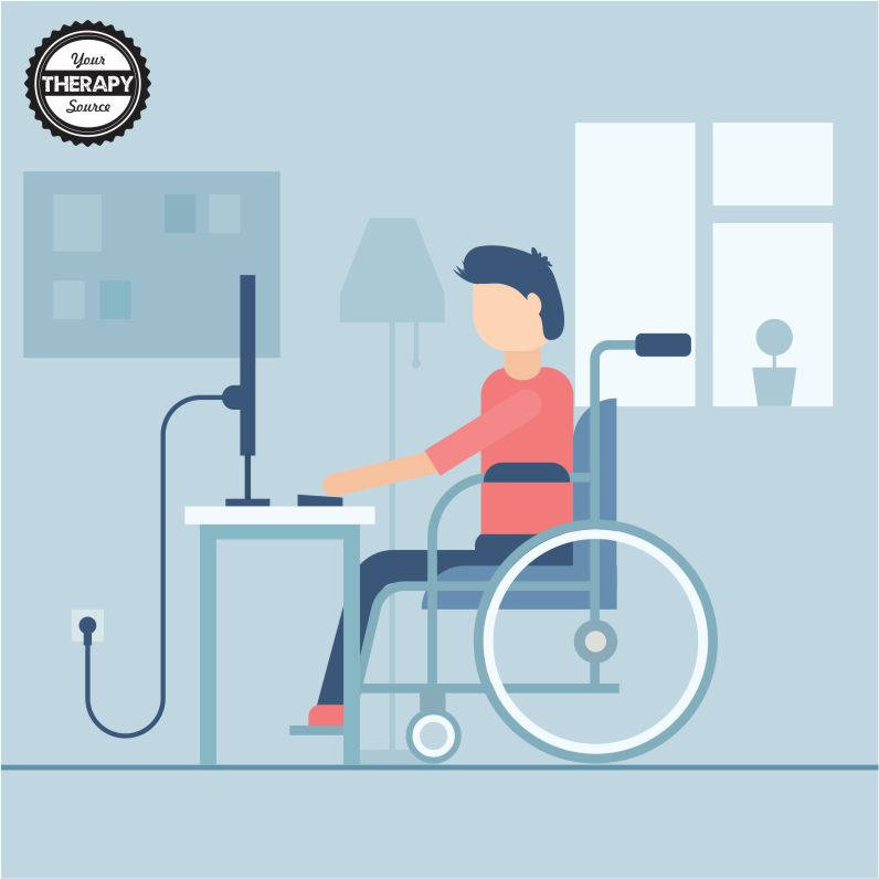 Photo of Telehealth seat and wheelchair assessment