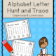 Alphabet Letter Hunt and Trace digital packet is a fun and engaging way to practice letter identification and letter sizing. It includes the upper case & lower case letters! This digital download packet requires NO PREP