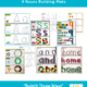 "Looking for multisensory learning activities? The 3-in-1, ""Build It Three Ways"" letters, numbers, & shapes + sight words & nouns mega bundle multisensory activity, created by Samantha Chow Tran, M.S., OTR/L, has three of the most popular building mats conveniently located all on one page!"