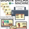 Brain Breaks for Kids - Classroom or Online Learning Tool