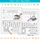 The Animal Alphabet Printable Worksheets has various tasks to practice pre-writing, handwriting, fine motor and visual motor skills.