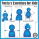 There are many benefits to completing simple posture exercises for kids at school or home. This set of 5 postural exercises for your students can be performed right in their chair during class or working at home.