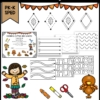 Thanksgiving Prewriting and Shapes Activities