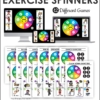 Fitness Games for Kids - Exercise Spinners
