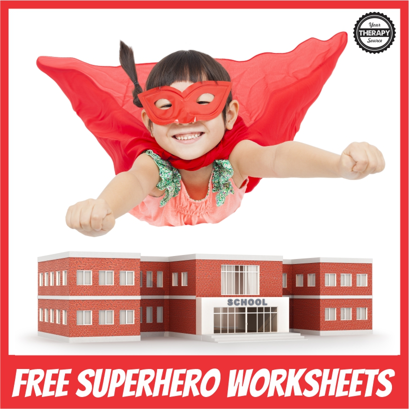 Photo of 3 FREE Superhero Worksheets PDF