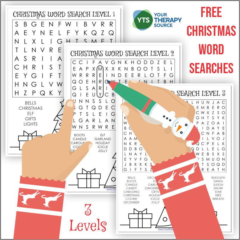 Photo of Christmas Word Search – Free Printable
