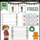 This huge packet of FREE December Holiday PDF sample pages is from the complete December Holiday Prewriting and Shapes packet.