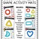 This packet of Play Dough and Shape Tracing Activity Mats digital download includes 14 different shapes to practice creating and tracing!