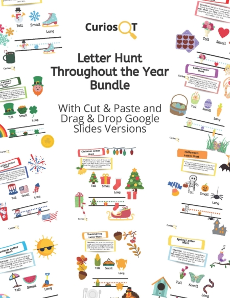 Clare Marie McCullough, OTR created this letter sizing resource to help save you tons of time all year long!