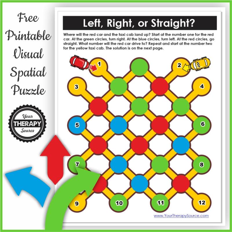 Photo of Free visual spatial reasoning puzzle