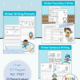 Work on handwriting skills with this differentiated writing bundle with a Winter theme! Created by Samantha Chow Tran, M.S., OTR/L