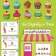 Need an super easy, no prep, interactive or print sensory motor and handwriting game? Check out the Cupcake Game.