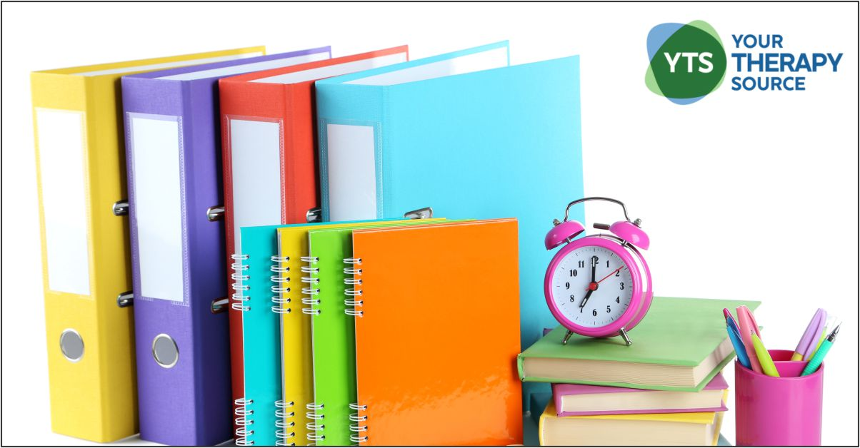 Here are 4 evidence based suggestions on how to improve organizational skills in your students with ADHD from Your Therapy Source.