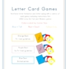 Letter Card Games
