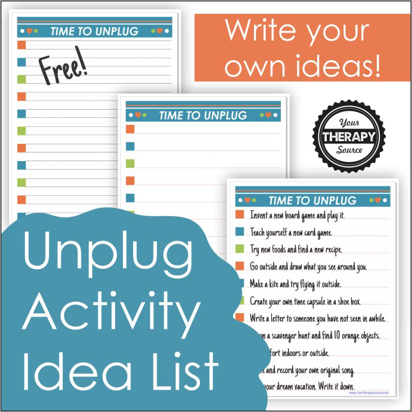 Photo of Ideas for Daily Unplugging – Your Source of Therapy