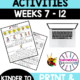 this packet of Occupational Therapy Elementary Activities for grades K through 2 SET TWO Weeks 7 through 12 is great for your students to work on fine motor, visual motor and visual perceptual skills.