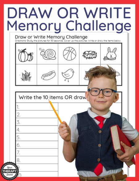 Do you need a fun but challenging Memory Game for Kids printable? These PDF packets can be printed or you can screen share this brain boosting activity!
