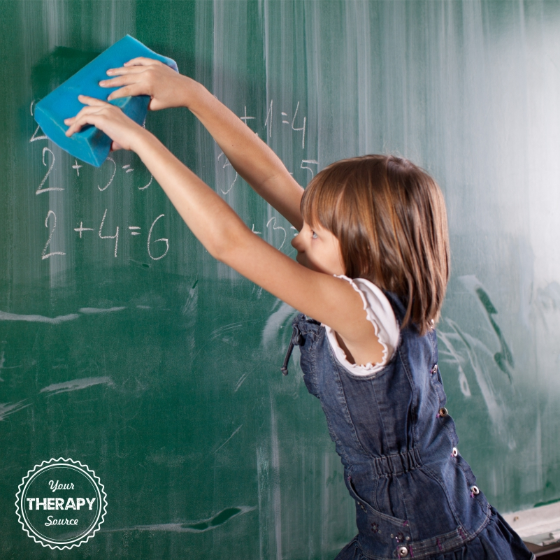 Assigning classroom jobs for students is a wonderful way to encourage independence and to allow for functional movement breaks throughout the day.