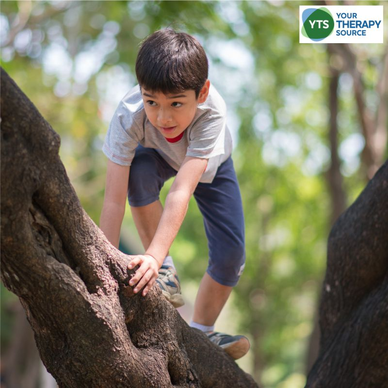 There are many benefits to risky play for children. Risk taking is so important throughout childhood to help kids to problem solve.