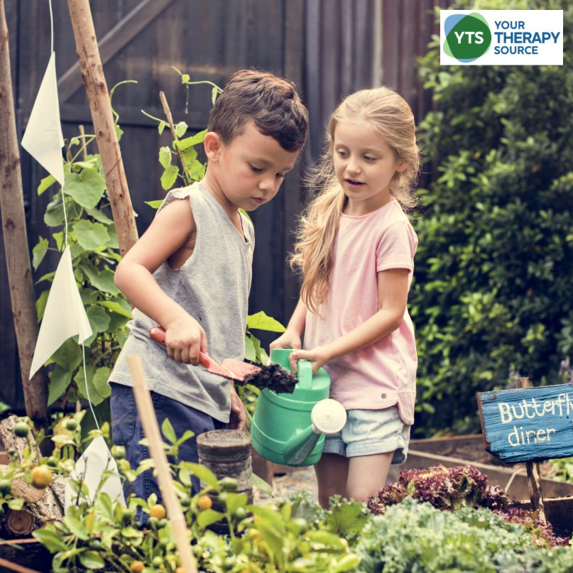 There are many benefits of gardening for children especially with regards to sensory motor exploration. Read more from Your Therapy Source.