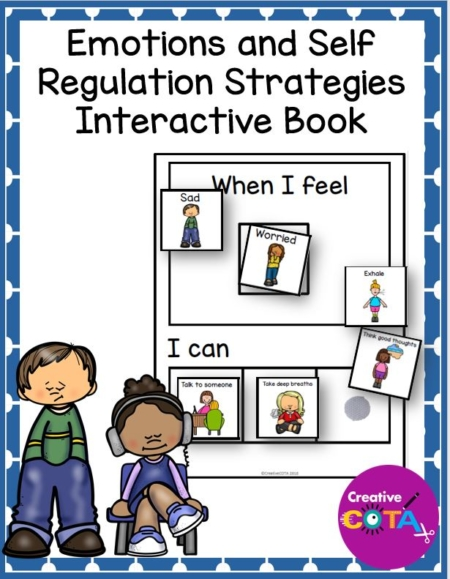 Created by a Certified Occupational Therapy Assistant, this Sort and Match Emotions and Self Regulation Strategies Activity is a great addition any self regulation/behavior/social emotional learning curriculum.