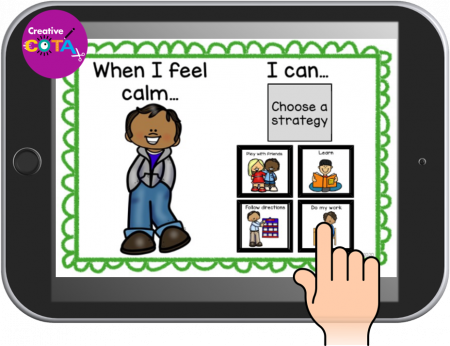 This set of Self Regulation Boom Cards is a bundle of some of the Creative COTA's best-selling self regulation and emotion Boom Cards.
