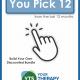 You Pick 12