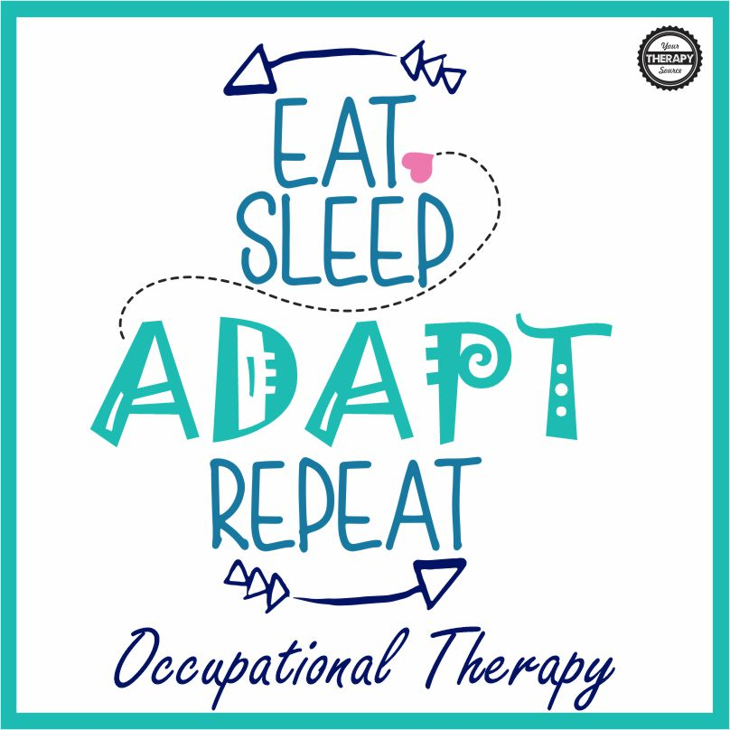 This printable highlights the devotion and importance of occupational therapy - you can download it for free at the bottom of the post.