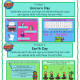 The Earth Day and Unicorn Boom Card Decks includes 2 different no print digital engaging activities to help with handwriting, keyboarding, sensory motor, and visual perceptual skills!