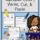 Alphabet Color Write Cut and Paste