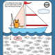 The Fishing Worksheets provide 7 pre-writing practice pages and 26 write, find and circle alphabet pages all with a fishing theme!