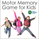 The Action Memory Game is a fun way for kids to exercise their brain and thier body. It is perfect for quick brain breaks.