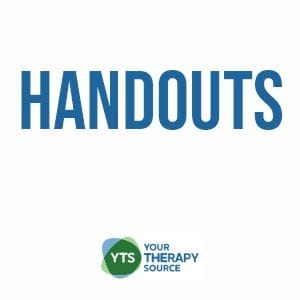 Pediatric Occupational and Physical Therapy Hand Outs