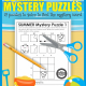 The Summer Puzzles Printable digital download includes 12 mystery puzzles to challenge your student's fine motor skills, spatial reasoning, visual closure, visual motor and handwriting skills!