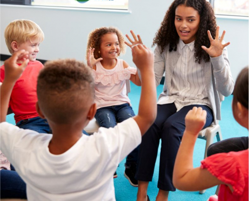 Educators, therapists, and parents can try various strategies and activities to improve imitation skills in young children with disabilities.