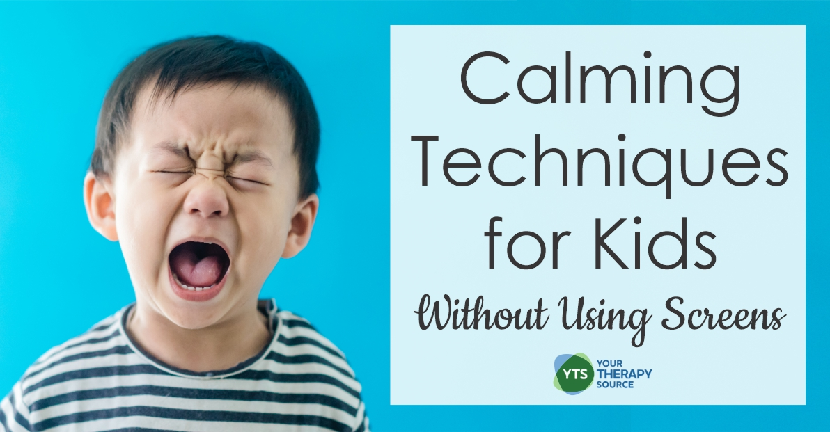 It can be hard figuring what other calming techniques for kids can be used when we're stressed out. Read these strategies to help.