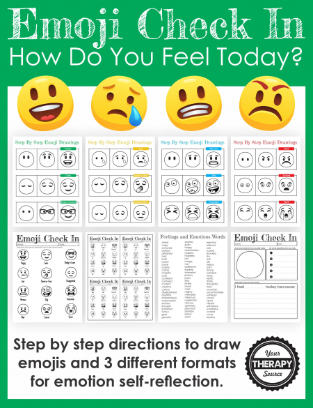 This Emotion Check In Packet is a wonderful tool for schools to use to gather quick student feedback, get to know students, and deliver in-the-moment supports.
