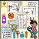 The Exercise & Sports Fine Motor Activity Packet - Color, Write, Cut, Glue digital download is an awesome NO PREP activity ready to go!