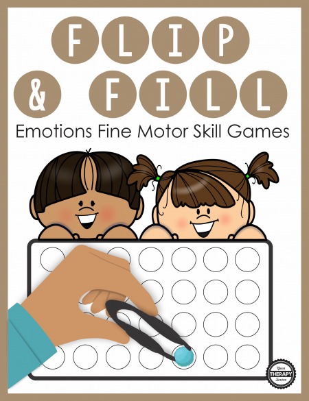 The EmotionsFine Motor Activitiesincludes game boards to practice fine motor skills, identify emotions and encourage hand strengthening.