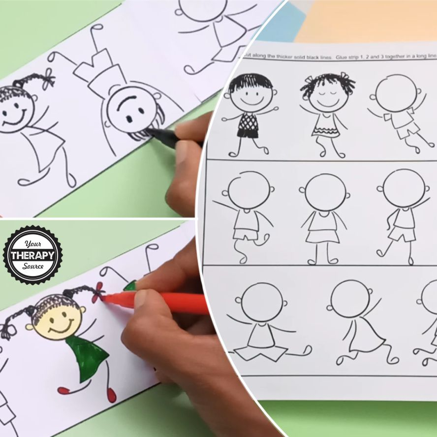This free creative drawing for kids art project is perfect if you need help getting started -  download it at the bottom of the post for free!