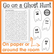 Here are some cute and fun Halloween ghost printables to entertain the kids. Download your free copy from Your Therapy Source.