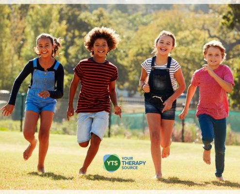 Locomotor skills enable children to move their bodies from one location to another. Nonlocomotor skills provide stability.